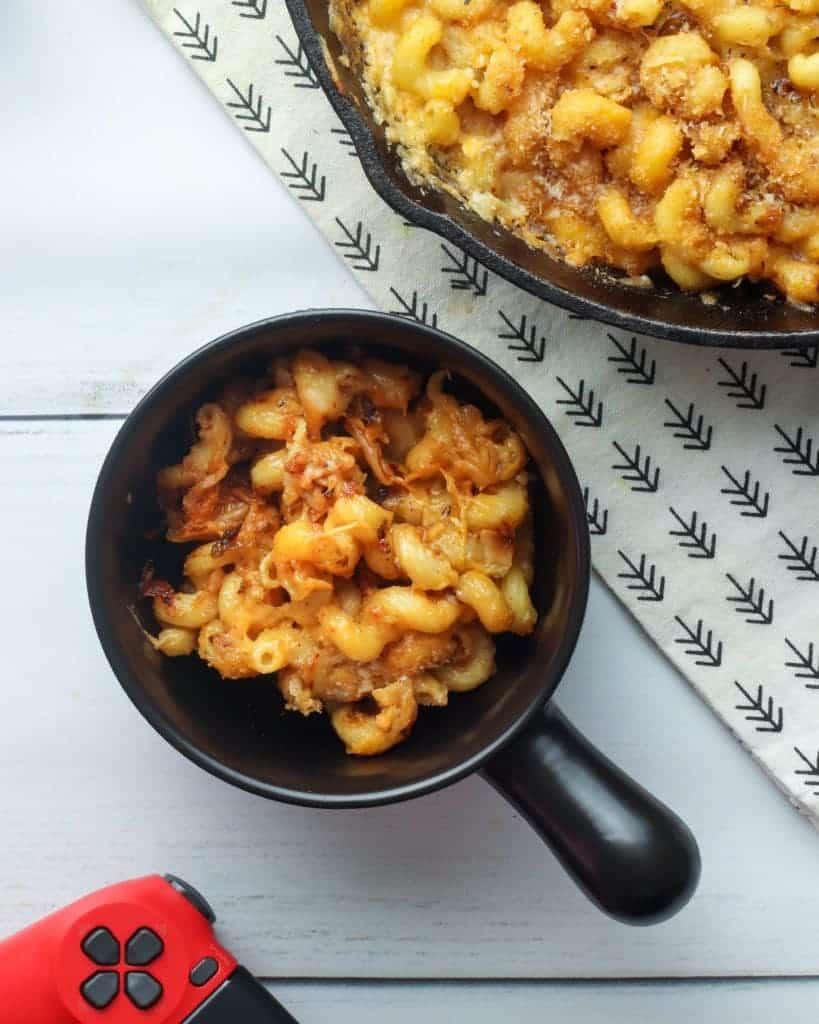 Kimchi Mac and Cheese - Urban Farmie