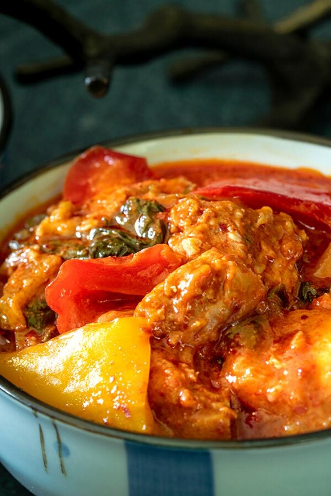 Korean Dak Galbi | Korean Spicy Chicken