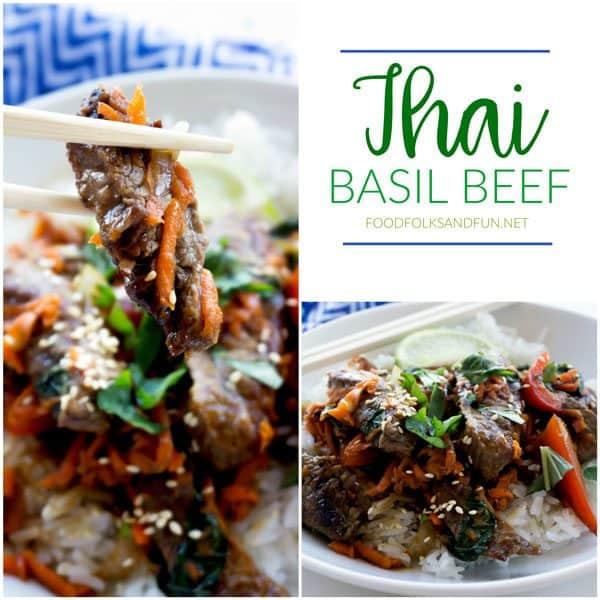 Thai Basil Beef (a.k.a. Pad Gra Prow)