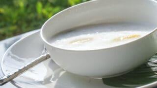 Thai Banana With Coconut Milk Dessert (Kluai Buat Chi) Recipe