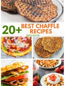 20+ Chaffles: The Best Keto Waffle Recipes You Must Try