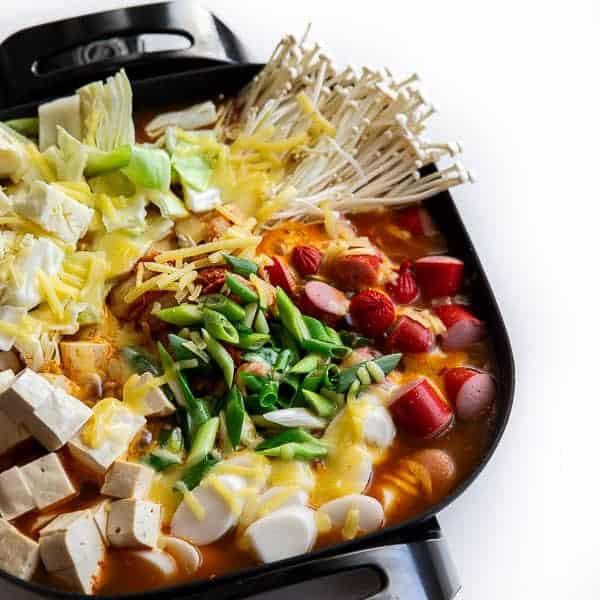 Easy Korean Army Stew (Budae Jjigae)