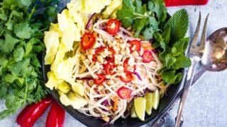 Easy Thai Green Papaya Salad