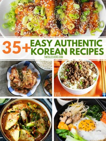 35+ easy authentic Korean recipes