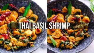 Thai Basil Shrimp fry