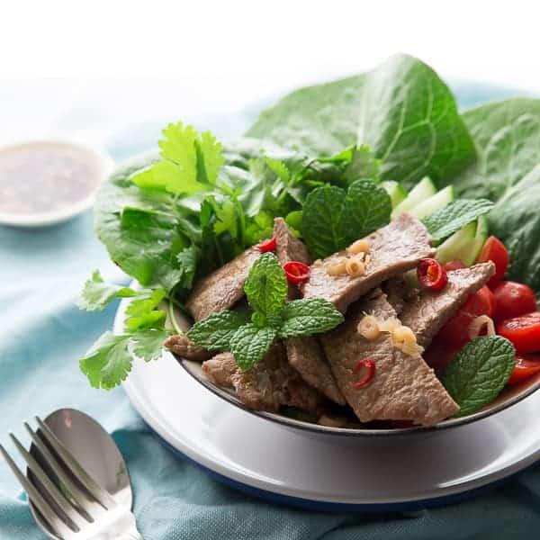 Yum Nua – Spicy Thai Beef Salad Recipe