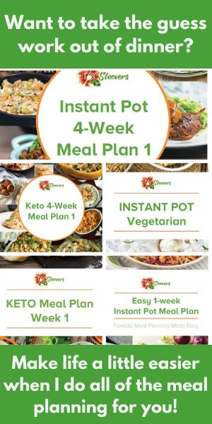 Collage of images advertising 5 different meal plans