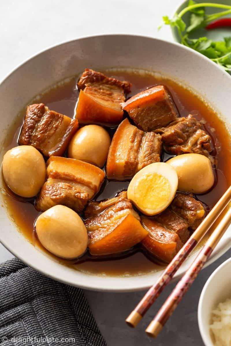 Authentic Vietnamese Caramelized Pork Belly (Thit Kho Tau)