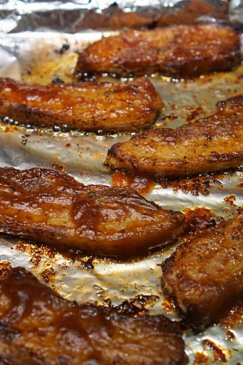 BBQ Pork Belly Slices Recipe