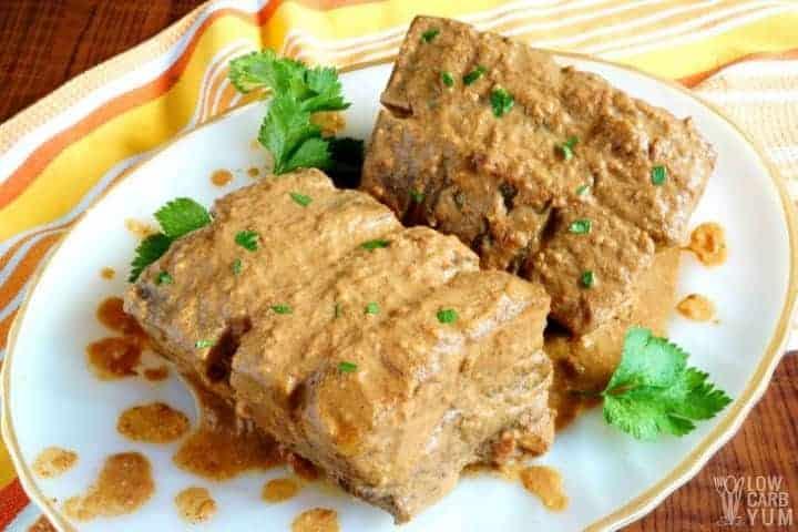 Pork Curry Slow Cooker Recipe (Keto, Paleo)