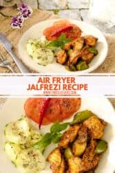 Chicken Jalfrezi Air Fryer Jalfrezi Recipe Made Quick And Easy