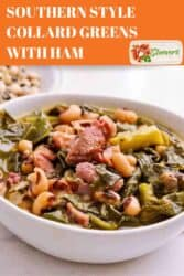 SOUTHERN STYLE COLLARD GREENS WITH HAM