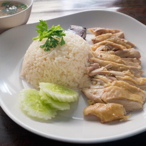 Hainanese Chicken Rice Easy 5 Ingredient Instant Pot Hainan Chicken