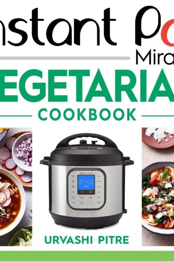Cover of Instant Pot Vegetarian Cookbook