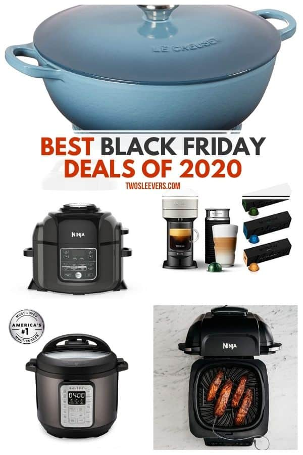 Collage of the best black friday deals of 2020