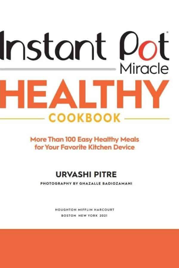 Cover of the Healthy Instant Pot Cookbook