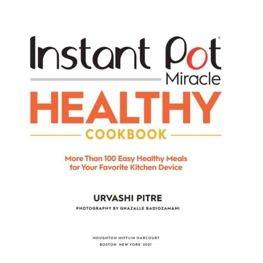 cover for instant pot healthy cookbook
