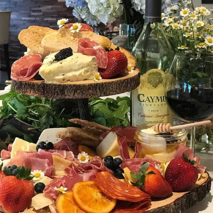 kim's kitchen charcuterie board