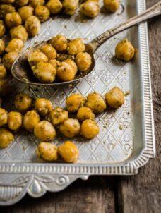 Air Fryer Chickpeas | Crispy Chickpeas With Za'atar