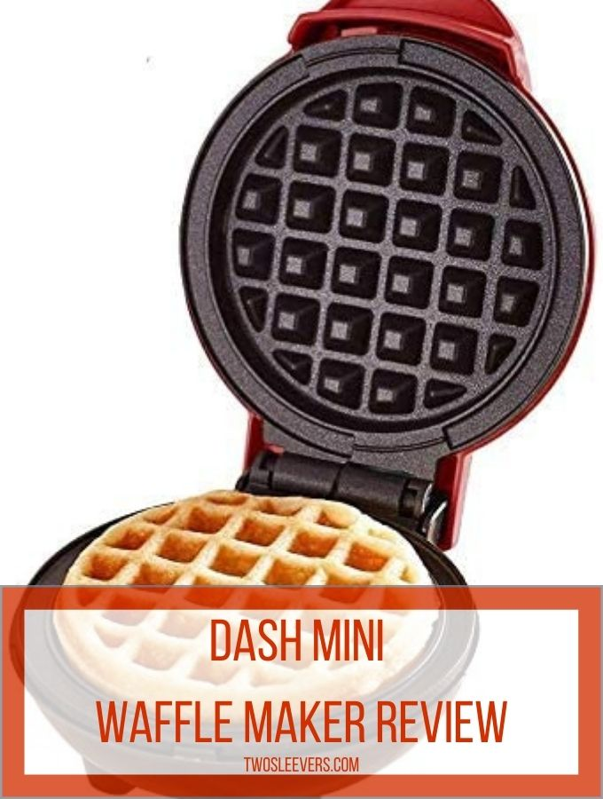 dash waffle maker review