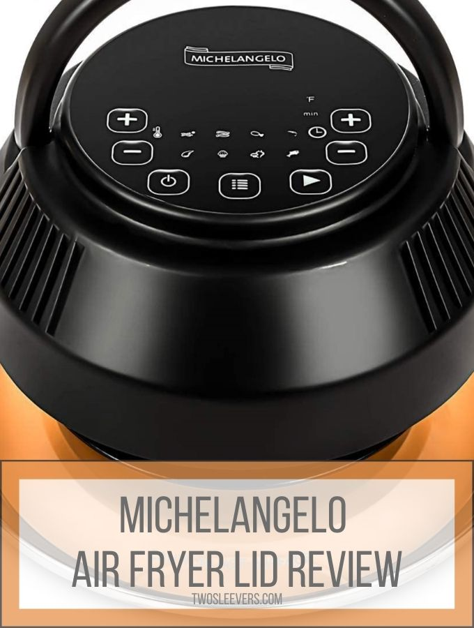 michelangelo air fryer review graphic